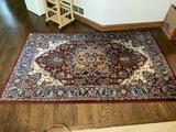 Mahdavi's Brand wool rug or carpet