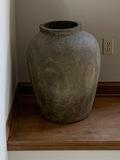 Large sized decorative ceramic urn