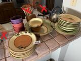 Group lot of ceramic dishware