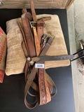 Group lot of Western Belts, buckles