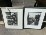 Two framed photographs by Johnny Donnels