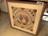 Vintage Native American Sand Painting