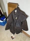 Australian Outback Genuine Oilskin Duster Jacket