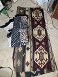 Two Southwest style rugs