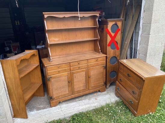 Group lot of Ethan Allen Baumgartner furniture