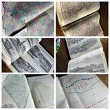 Rare 1875 Fayette County Ohio Historical Atlas