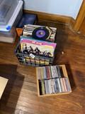 Box of popular records