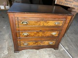 Antique cabinet or chest of drawers
