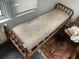 Antique Jenny Lind Hired Hands Bed