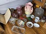 Jewelry, Hall Pottery, Cookie Jar, etc.