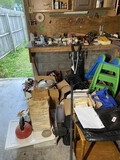 Group lot of tools and misc household items