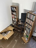 Large lot of CDs, holders etc