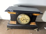 Antique Wind Up Mantle Clock