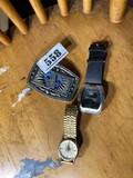 Masonic buckle, Bulova watch PLUS