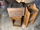 1976 Busch box, stand, cabinet