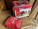 Roadside Auto Safety Kit + First Aid