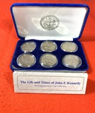 The Life and Times of John F. Kennedy $5 Commemorative Coin Collection