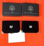 1994 & 1995 United States Mint Premier Silver Proof Sets