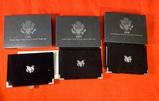 1996, 1997, & 1998 United States Mint Premier Silver Proof Sets