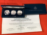 1994 U.S. Veterans Commemorative Silver Dollar Proof Set