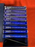 1999 - 2006 United States Mint Proof Sets