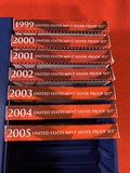 1999 - 2005 United States Mint Silver Proof Sets