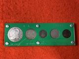 5  Old U.S. Coins