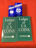 Coin World Books and Coin Holders