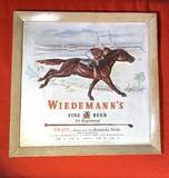Wiedemann's Beer Advertising Sign Plastic