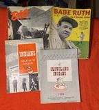 Vintage Baseball Programs