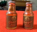 Vintage Prager Beer Salt & Pepper Shakers