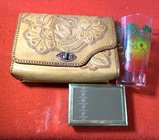 Vintage Purse, Drink Glass, & What-Not Box