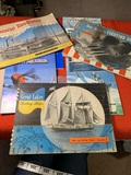 Ships and Sailing Albums, Airplane Books & More