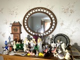 Great Group of Decorative Angles, Frames, Clock, Mirror & More