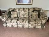Genesis Furniture Floral Sofa