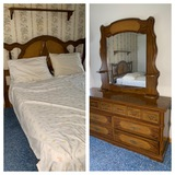 Dresser and Bed - No Identifying Marks