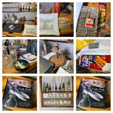 Vintage Barware, Matches, Telephone, Ash Trays & More