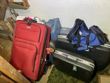 Great Group of Luggage, Speaker & Burner