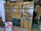 Bookshelf with Built in Secretary
