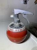 Vintage Fire Extinguisher and Bracket