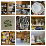 Great Kitchen Clean Out - Haviland China, Flatware, Decorative Plates, Vintage Trays, & More.