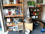 Garage Clean Out Left Side - Washboards, Planters, Glassware, Decorative Items & More