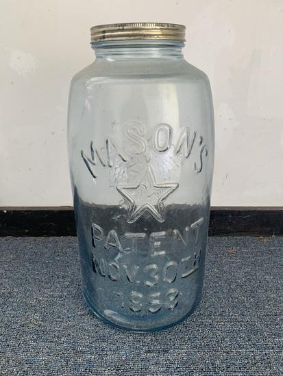 Mason's Decorative Jar 18 inches High