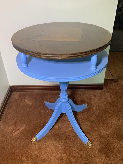 Vintage Painted Side Stand