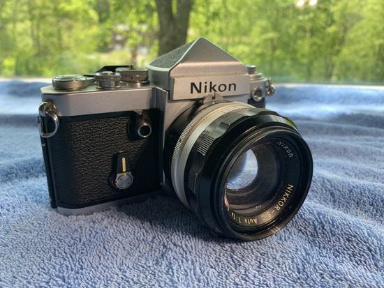Nikon F2 3710493 Camera