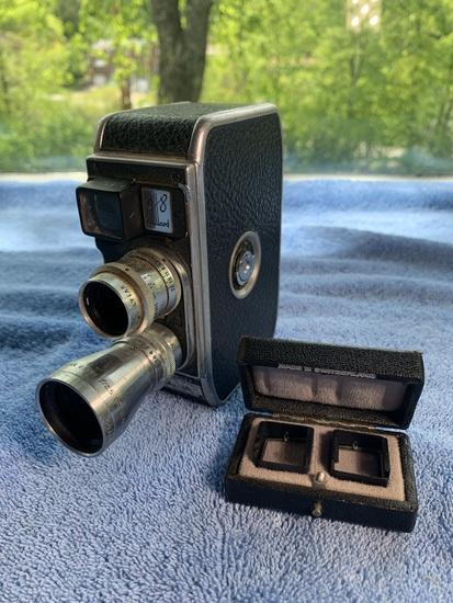 Paillard B8 B8 8mm Cine Film Camera