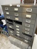 Metal sorter cabinet
