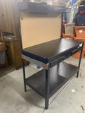 Metal Tool Bench with Light