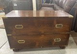 Retro Two Drawer Stand or Cabinet