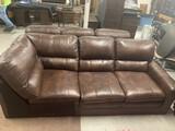 Nice Leather Sectional Sofa